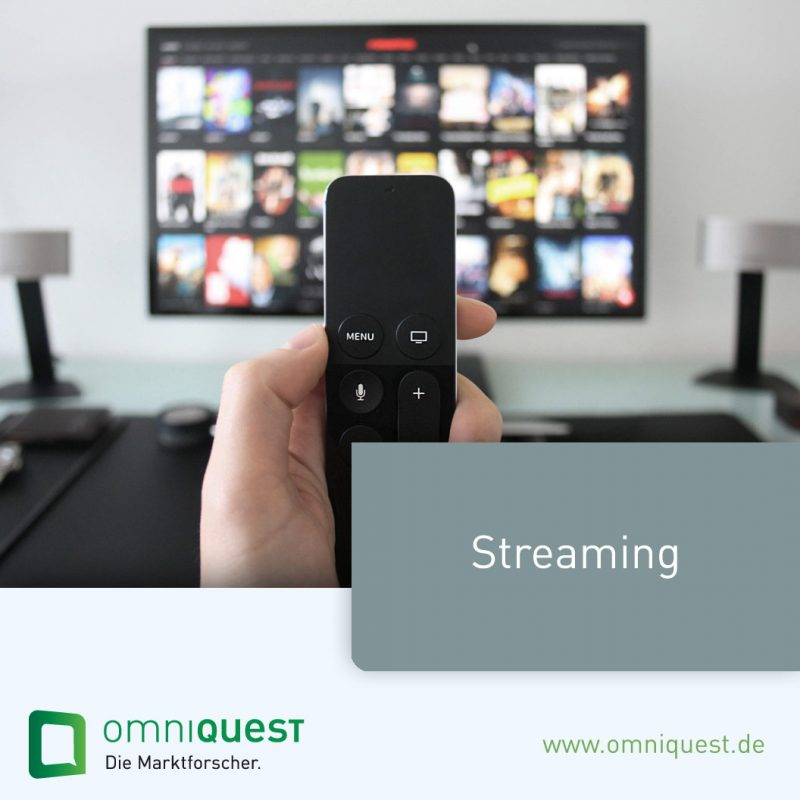 Marktforschung-Streaming