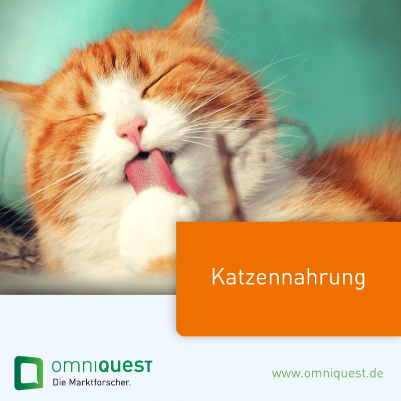 Marktforschung-Katzennahrung