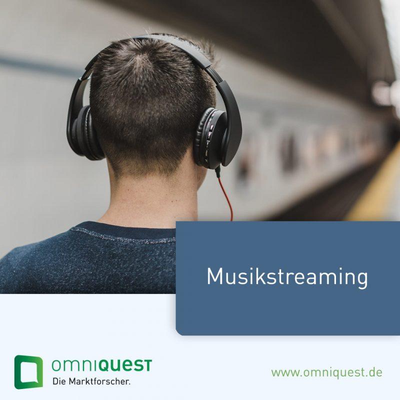 Marktforschung-Musikstreaming