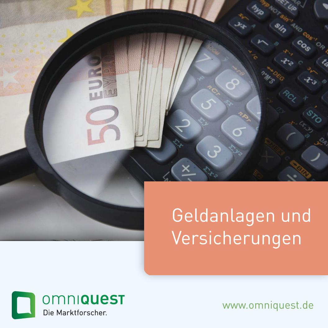 OmniCheck <b>Geldanlagen und Versicherungen</b>