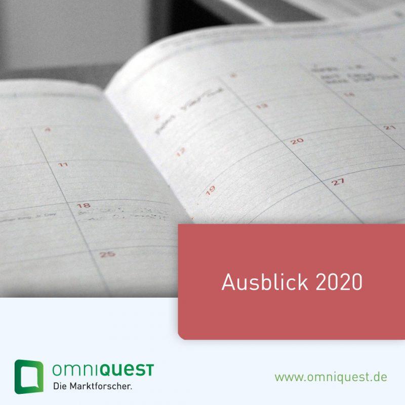 Ausblick 2020